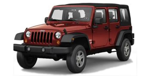 2010 Jeep Wrangler Unlimited 4-Door 5-Seat Softtop SUV Priced Under