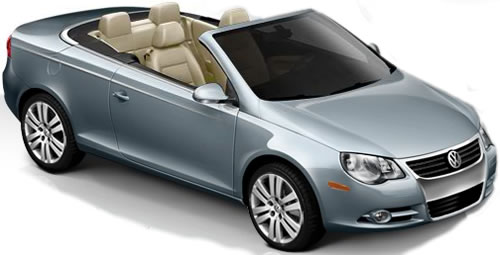 The 2010 Volkswagen Eos Is A 2 Door Hardtop Convertible Seating Maximum Of 4 Pengers With Price Starting At 32 390 Running On Premium