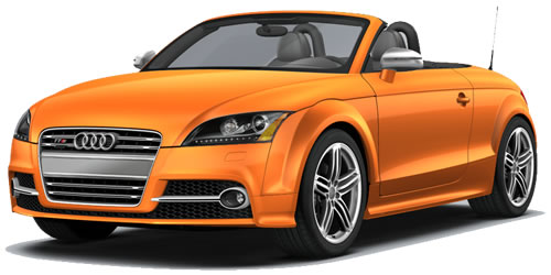 2011 audi tts roadster 2 door 2 seat softtop roadster. Black Bedroom Furniture Sets. Home Design Ideas