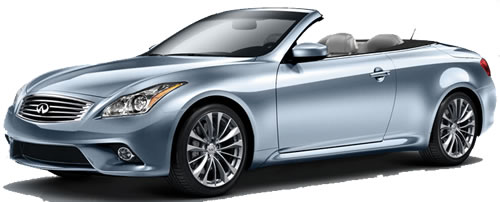 2011 Infiniti G37 2 Door 4 Seat Hardtop Convertible Priced Under