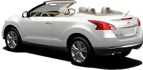 2011 Nissan Murano CrossCabriolet 2-Door 4-Seat Softtop SUV Priced