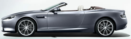 2012 Aston Martin Virage Volante 2-Door 4-Seat Softtop Convertible