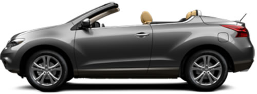 2012 Nissan Murano CrossCabriolet 2-Door 4-Seat Softtop ...