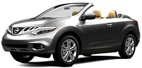2013 Nissan Murano CrossCabriolet 2-Door 4-Seat Softtop SUV Priced