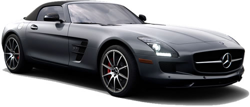 Merveilleux ... 2 Passengers, With A Price Starting At $208,000. Running On Premium,  The SLS AMG GT Roadster Gets 13 MPG City, 19 Highway MPG, With A Combined  15 MPG.