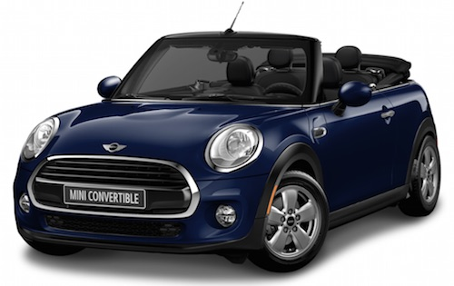 2016 Mini Cooper Convertible 2 Door 4 Seat Softtop Convertible