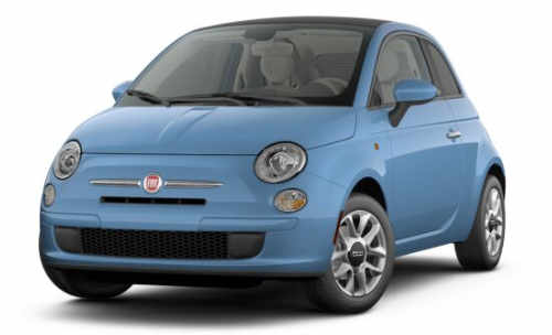 The 2017 Fiat 500c Is A 2 Door Softtop Convertible Seating Maximum Of 4 Pengers With Price Starting At 16 490 Running On Premium Gets 31
