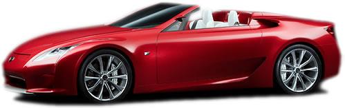 Lexus LF-A Roadster 2-Door 2-Seat Softtop Roadster - Lexus ...
